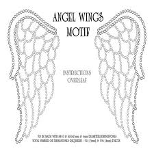 Angel Wings Coloring Pages Publicado Por
