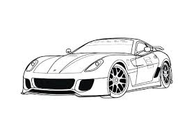 Ferrari Enzo Colouring Pages Printable Drawings And Coloring Pages