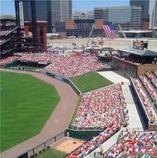 St Louis Cardinals Stadium Seating Chart Busch Stadium St Louis Cardinals Ballpark Ballparks Of