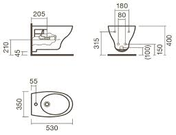 Купить <b>Биде подвесное Sanitana Pop</b> S10076534900000 с ...