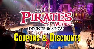 Pirates Voyage Seating Chart Pirates Voyage Coupons And Discounts Pirates Voyage Pigeon