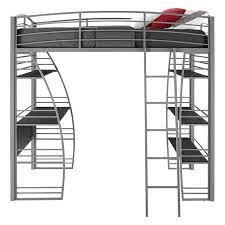 twin loft bed loft bunk beds