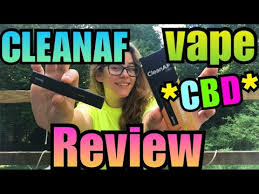 CleanAF CBD Disposable Vape Review  Brittany Allison - YouTube