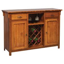 buffet with wine rack. Beautiful With Kieran Mission Buffet U0026 Wine Rack Inside With