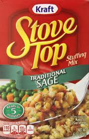 stove top tradtional sage stuffing mix 6oz bo pack of 12