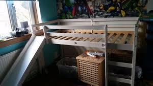 bespoke kids cabin bed with slide