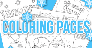 Our world is so exciting that every its particle may cause our curiosity and desire to explore it. Happy 2021 Check Out These January Coloring Pages Kids Activities Blog
