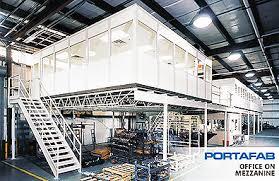 warehouse mezzanine modular office. Cleveland Mayfield Mezzanine Lifts, Modular Offices Warehouse Office