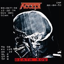 <b>Accept</b> - <b>Death Row</b> [180 Gram Vinyl] (Vinyl LP) - Amoeba Music