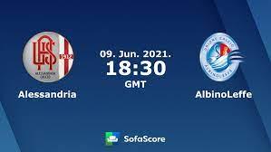 Alessandria vs AlbinoLeffe live score, H2H and lineups