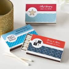 personalized matchbox favors box of 50 80 gif