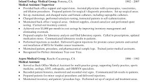 Resume For Medical Receptionist Automobile Service Manager Sample