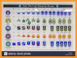 Us Army Rank Chart 12 Military Rank Chart Resume Pdf