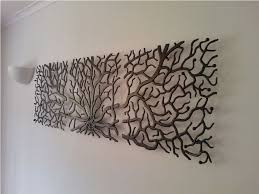 image of contemporary large iron wall decor