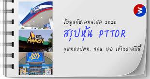 สรุปหุ้น PTTOR - BuffettCode
