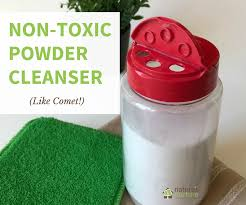 ditch the harmful chemicalake this non toxic scouring powder with 2 simple