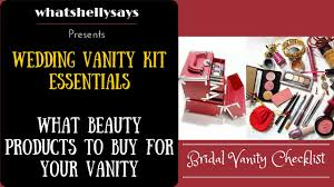 wedding makeup bag wedding makeup kit list indian bridal makeup kit you