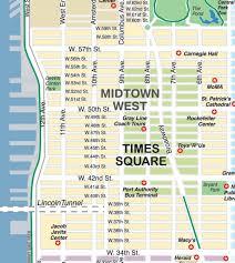broadway nyc map  broadway new york map (new york  usa)