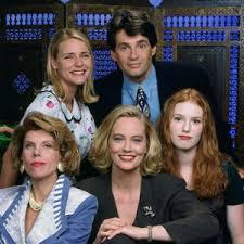 Cybill, Cybill Shepherd, Christine Baranski, Alan Rosenberg, Dedee Pfeiffer, Alicia Witt, sitcom, television