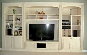 built in wall entertainment unit