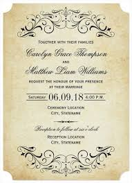Sample Invitation Cards 10 Elegant Wedding Invitation Templates Free Sample
