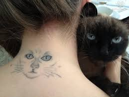 50 Foto Di Tatuaggi Di Gatti O Gattini