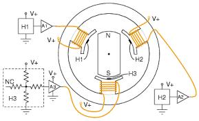 brushless dc motor ac motors electronics textbook hall effect sensors commutate 3 φ brushless dc motor