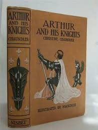 king arthur and his knights chaundler 1st 1920 ilrated by mackenzie