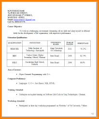 9+ Teacher Resume Format For Freshers | Phoenix Officeaz