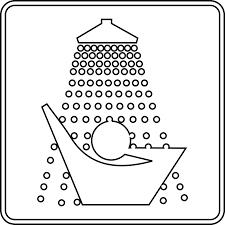 shower head clip art. Shower Head Clipart Black And White Clip Art
