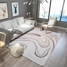 nordic style marble pattern carpets for living room bedroom large area soft rugs home floor bedroom carpet kids room decor rug carpet depot carpet