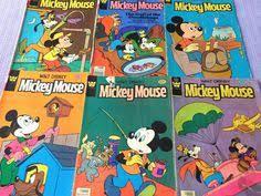 walt disney mickey mouse ics books lot of six issues 1970 s bronze vg