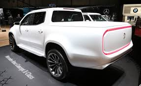 mercedes benz pickup truck 2018. contemporary 2018 mercedesbenz though knows that pickup trucks can make more than just one  kind of style statement which is why the brand also showed off concept  and mercedes benz truck 2018