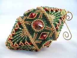 Beaded Christmas Ornaments Patterns Awesome Unusual Ideas Design Beaded Christmas Ornament Patterns Pattern