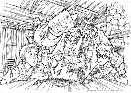 Small Picture Christmas Coloring Pages Harry Potter Coloring Coloring Pages