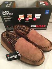 32 Degrees Mens Slippers Size Chart 32 Degrees Heat Brown Memory Foam Indoor Outdoor Soles Mens