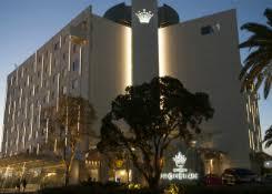 building facade lighting. Crown Promenade Hotel, Perth Building Facade Lighting