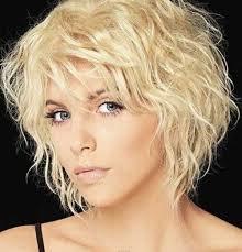 short blonde graduated haircut for fine wavy hair