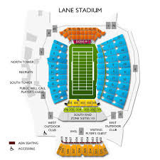 Lane Stadium Interactive Seating Chart Stadium Floor Plan Online Charts Collection