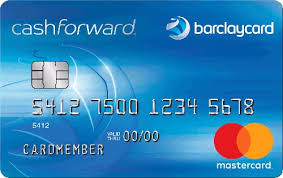 barclaycard cashforward credit card