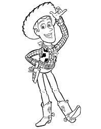 Colorare Toy Story Disegno Woody Il Giocattolo Preferito Di Andy