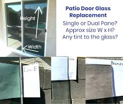 patio door replacement cost french door glass replacement cost to replace glass in sliding patio