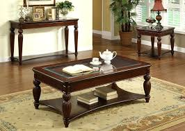 solid oak coffee table with glass top amazing amazing crystal falls dark cherry with regard to wood coffee table within dark wood coffee table set ordinary