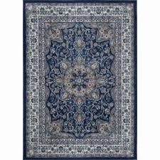 focus wayfair round rugs bella navy blue ivory 5 ft x area rug s and