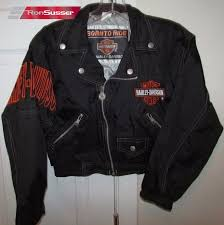 harley davidson born to ride infant youth toddler black fabric faux leather jacket