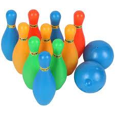 12 Cái/Bộ Trẻ Em Đồ Chơi Bowling Đồng Màu Chân Bóng Trò Chơi Bowling, Thể  Thao Trong Nhà Phát Triển Đồ Chơi|Bóng đồ chơi