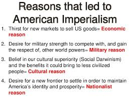 Reasons For Imperialism Hw 35 Causes Of Imperialism