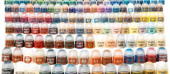 Gw Colour Chart New Citadel Paints 1 Gaming New Orleans And