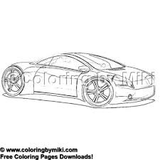 Sport Cars Coloring Page 2002 Vehicles Coloring Page 乗り物