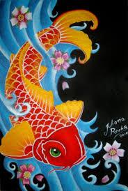 koi fish painting koi fish by jmisfit on deviantart